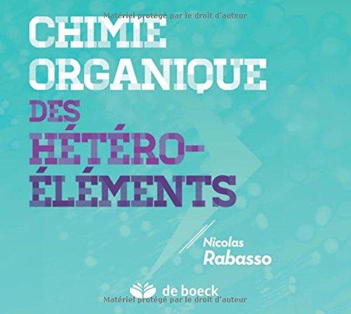 Chimie Organique des Hetero-Elements en Poche