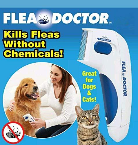 NOII Flea Doctor,Elektrische Bürste Kamm Kopf Läuse Entfernung Hund Reinigung Capture Tool