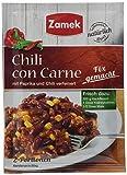 Zamek Fix für Chili con Carne · Chili mit Kidneybohnen und Mais · ergibt 2 Portionen · für 200 g Hackfleisch, 43er Pack (43 x 35 ml)