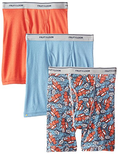 Jungen-slips Fruit The Of Loom Xl (Fruit of the Loom Jungen Slip, mehrfarbig, 3EL8BPS-Multi-XL 18-20)