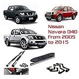 2005-2015 Nissan Navara D40 Aluminium Side Running Boards Bar Steps OEM