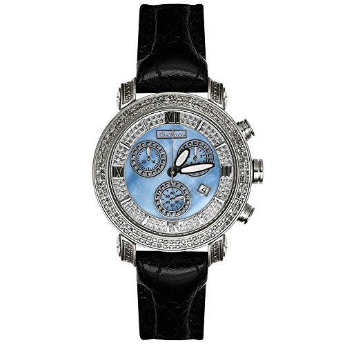 Joe Rodeo Diamant Homme Montre - CLASSIC argent 1.75 ctw