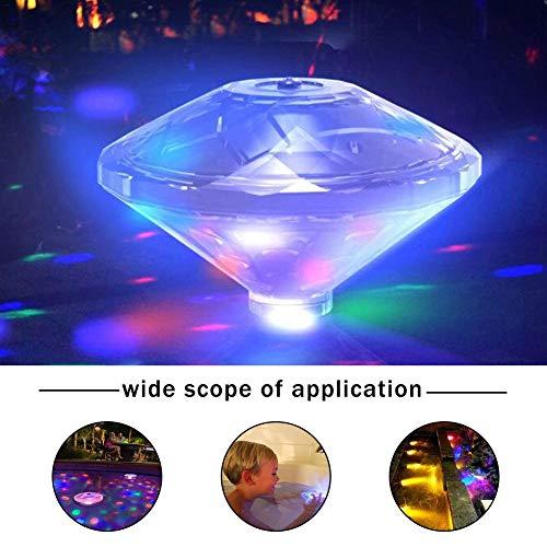 Licht Für Wasser Lumière Sous-Marine LED Lumières Flottantes Colorées Créatives LED Lumières De Bassin Lumières De Piscine -