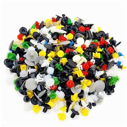 GreatFun1000 mehrfarbige kunststoffverschlüsse Trim niet Schnalle Schnalle Clip Clip Auto innen türverkleidung Clip befestigungsclip Auto Gute zubehör -