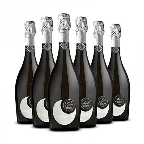 Sogno di Luna Vino Bianco Spumante Millesimato Extra Dry - cl. 75 - 6 bt - Linea Emozioni Frizzanti - Ornella Bellia