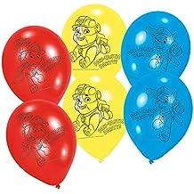 Paw Patrol - Patrulla Canina - 6 Globos cumpleaños - Little Heroes