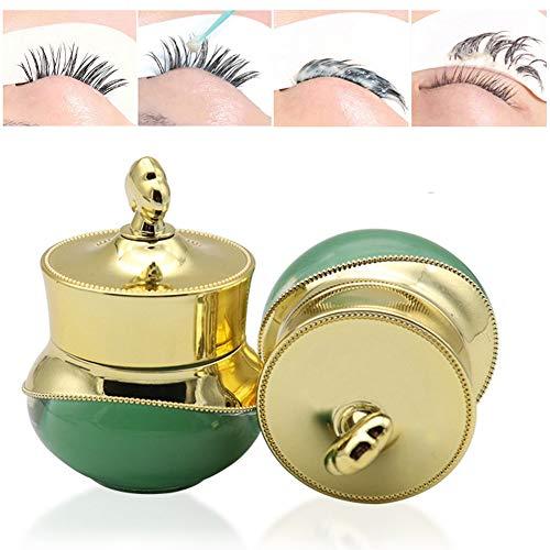 Professional False Eyelash Glue Remover,ROMANTIC BEAR Gel-crème pour greffe d'extension de faux cils non irritant (A)