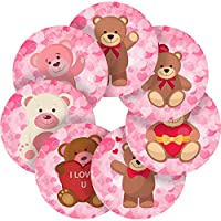 Graphic Flavour Loving Teddy Bears Reward Sticker Labels, Children, Parents, Teachers