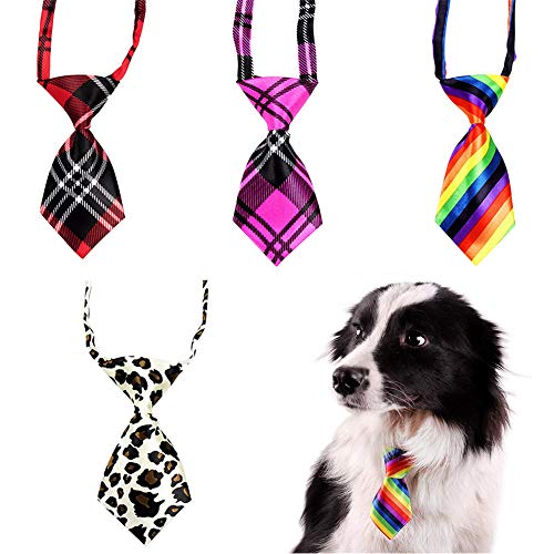 WENTS Pet Tie 4PCS Adjustable Pe...