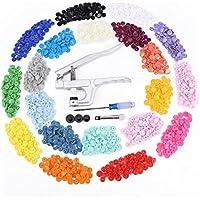 300pcs 20 Colori Dimensioni 20 T5 Scatta Resina Plastica Poppers Pulsanti Snap Borchie [version:x8.2] by DELIAWINTERFEL