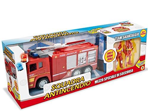 Teorema 64132 Camion Vigili del Fuoco con Accessori  Rosso