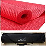 HappytechTM New Design Fitness Non Slip Yoga Mat 6mm Extra Thick and Comfort
