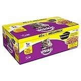 Whiskas 1 + cacerola para gatos en jalea (40 unidades)