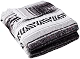 Best Yoga Direct Blankets - YogaDirect Deluxe Mexican Yoga Blanket, Gray Review