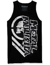 Camiseta sin mangas Metal Mulisha Burn Negro