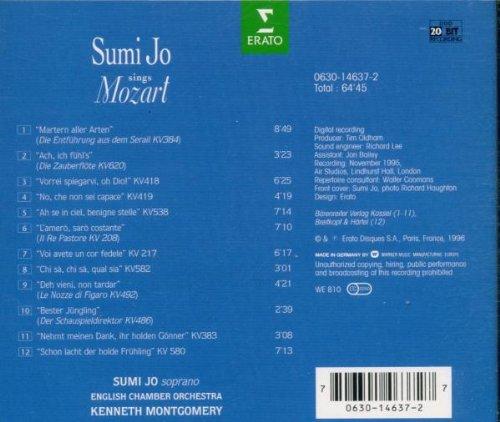 Sumi Jo sings Mozart [Import USA]