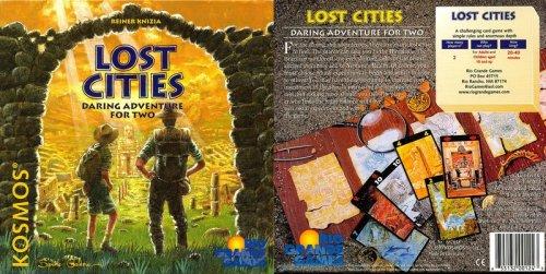 Preisvergleich Produktbild Rio Grande Games 124 - Lost Cities, englische Ausgabe