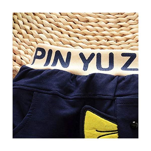 Squarex - Pantalones de 3 a 24 Meses, para bebé, niños, con diseño de Letras, Ropa Informal, Moda otoñal, Invierno, Ropa… 5