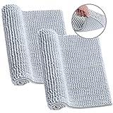 50/×80cm Microfibra Assorbente Tappetini per Il Bagno XIYUNTE Tappeti e tappetini Non Scivolare Tappeti per Animali Domestici Lavabile in Lavatrice tappeti da Bagno da Vasca Zerbino