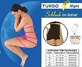TURBO Night Bodyforming Bauchgurt mit ActiCreme + Peelingshandschuh - schlaf dich schön! TN83020-XL9