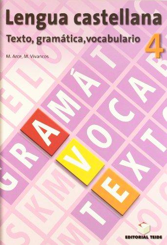 Lengua castellana, texto, gramática, vocabulario, 4 ESO. Cuaderno y solucionario - 9788430749751