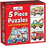 Creative Educational Aids P. Ltd. Puzzles (5 Piece)
