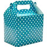 10 Polka Dot Party Favour Boxes