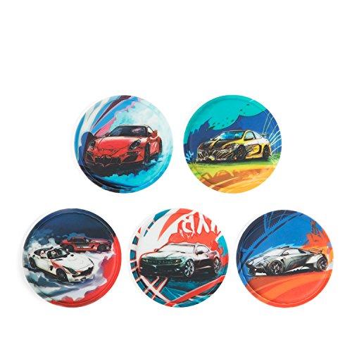 Ergobag Accessoires Klettbilder-Set 5-tlg Kletties Autos Autos