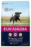 Eukanuba Junior Trockenfutter für große Hunde mit frischem Huhn, 3 kg
