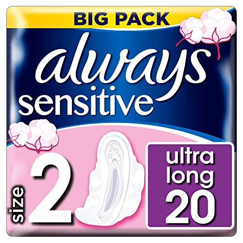 Always Sensitive ultra – Compresas largas alas 20