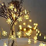 LED Kugel Lichterkette, Lichtervorhang LED Glühbirne Lichterkette Warmweiß IP65 Wasserdicht für Weihnachten, Hochzeit, Party, Zuhause sowie Garten, Balkon, Terrasse, Fenster, Treppe, Bar