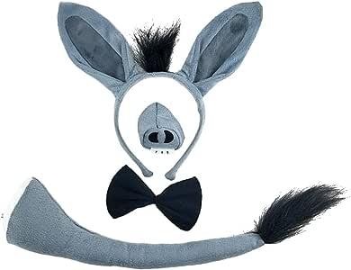 GIRAFFE KIT Taglia unica gli animali di partito FANCY DRESS