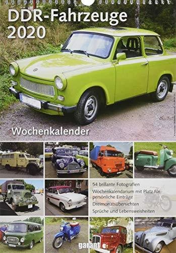 Wochenkalender DDR Fahrzeuge 2020