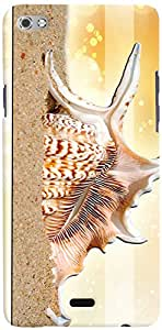 PRINTVISA Abstract Snail Mobile Case Cover for Micromax Canvas Sliver 5 Q450 (Multicolour)