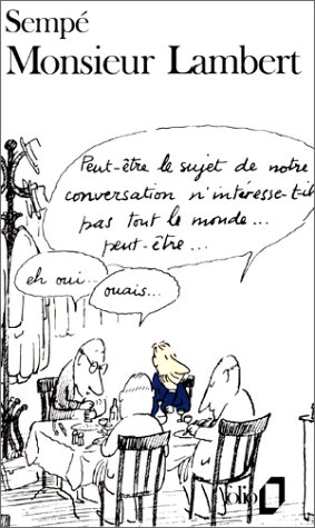 Monsieur Lambert par Sempé