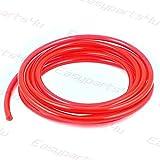 Pneumatik Polyurethan PUN Schlauch \ 1 meter \ Außen 4mm x Innen 2,5mm \ Rot \ Flexibel Druckluftschlauch Luft Treibstoff Öl