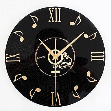 MGS-Wall Clock@Retro Office/Business Holiday Music Wall ClockNovelty Acrylic Metal Indoor Clock
