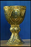 758022 Gold Cup _Tassilo Kelch_ Anonymous Artist Kremsmuenster Austria A4 Photo Poster Print 10x8