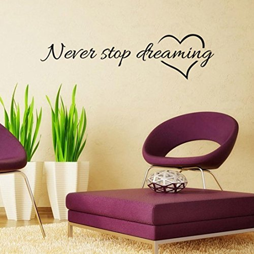 amlaiworld-never-stop-dreaming-removable-art-vinyl-mural-home-room-decor-wall-stickers