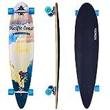 HJ 44 Longboard Skateboard Top mount Cruiserboard Board Streetsurfer ABEC 7