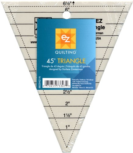Simpli-EZ 8829421 Quilt-Lineal für 45-Grad-Dreieck
