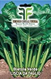 750 Aprox- Semillas de acelga tiernas y lisas - Beta vulgar en su embalaje original Made in Italy - Acelga verde lisa