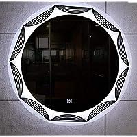 مرآة ليد دائرية للحمام