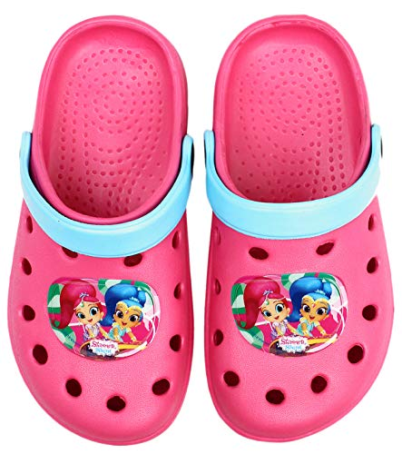 Shimmer and Shine ,  Unisex Kinder Clogs, Pink - Rose - Größe: 30 EU