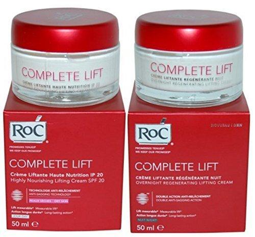 Roc COMPLETE LIFT Duo crema per il giorno SPF20 50ml + crema notte 50ml - Lifting & Rassodante Creme idratanti