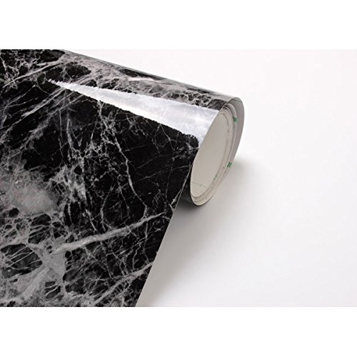 black-grey-granite-look-marble-effect-contact-paper-film-vinyl-self-adhesive-peel-stick-counter-top-