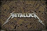 Close Up Póster Metallica - Logotipo (86,4cm x 56,8cm)