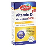 Abtei Vitamin D3 Forte Wochendepot