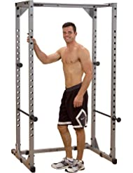 Powerline Power Rack - Jaula de sentadillas, color gris