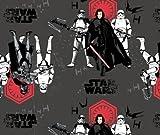 Star Wars–Star Wars–Sturmtruppen grau–cam212–0,5Meterware–Stoff von Camelot–100% Baumwolle